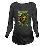 Tennie Weenies092 Long Sleeve Maternity T-Shir