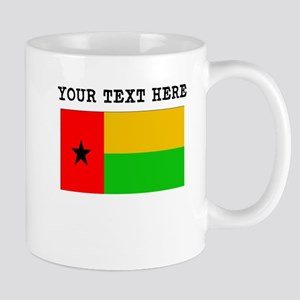 Custom Guinea Bissau Flag Mugs