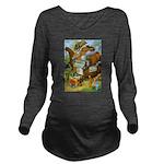 Tennie Weenies089 Long Sleeve Maternity T-Shir
