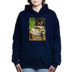 Tennie Weenies088 Women's Hooded Sweatshirt