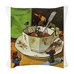 Tennie Weenies088 Woven Throw Pillow