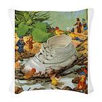 Tennie Weenies087 Woven Throw Pillow