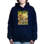 Tennie Weenies081 Women's Hooded Sweatshirt