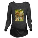 Tennie Weenies081 Long Sleeve Maternity T-Shir