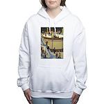 Tennie Weenies078 Women's Hooded Sweatshirt