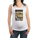 Tennie Weenies078 Maternity Tank Top