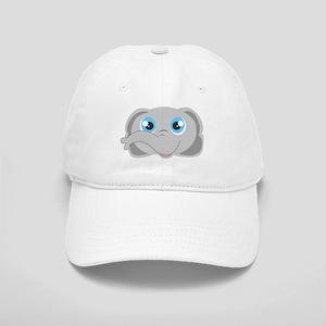 Cute Elephant Head Cartoon Cap
