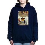 Tennie Weenies077 Women's Hooded Sweatshirt