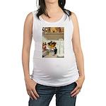 Tennie Weenies077 Maternity Tank Top