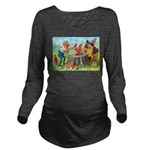 Thiele Cat_60_46 Long Sleeve Maternity T-Shirt