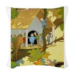 Tennie Weenies080 Woven Throw Pillow