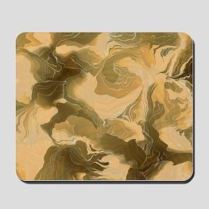 Swirling Desert Camo Mousepad