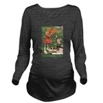 The Goose Girl_GREEN Long Sleeve Maternity T-S