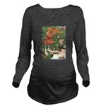 The Goose Girl Long Sleeve Maternity T-Shirt