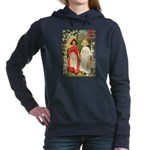 Snow White and Rose Red Women's Hooded Sweatsh