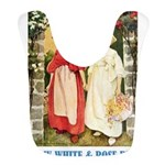 Snow White and Rose Red_blue Bib