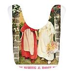 Snow White and Rose Red_pink Bib