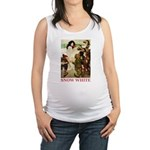 Snow White 2 RED Maternity Tank Top