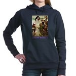 Snow White 2 PURPLE Women's Hooded Sweatshirt