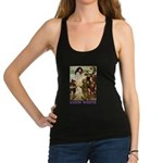 Snow White 2 PURPLE Racerback Tank Top