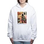 Sleeping Beauty_blue Women's Hooded Sweatshirt