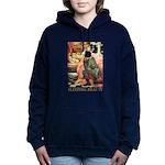 Sleeping Beauty_gold Women's Hooded Sweatshirt