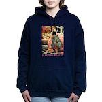 Sleeping Beauty_pink Women's Hooded Sweatshirt