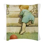 SEVEN AGES- Toddler Woven Throw Pillow