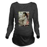 SEVEN AGES- Baby Doll Long Sleeve Maternity T-
