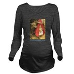Little Red Riding Hood_blue Long Sleeve Matern
