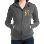 Jack and the Beanstalk_red Women's Zip Hoodie