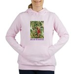 Jack and the Beanstalk_purple Women's Hooded S
