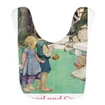 Hansel and Gretel_pink Bib