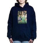 Hansel and Grete_green Women's Hooded Sweatshi