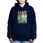 Hansel and Grete_blue Women's Hooded Sweatshir