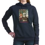 GOLDILOCKS_RED Women's Hooded Sweatshirt