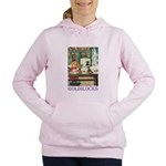GOLDILOCKS_PURPLE Women's Hooded Sweatshirt