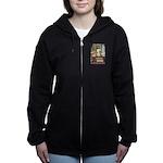 GOLDILOCKS_PINK Women's Zip Hoodie