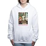 GOLDILOCKS_PINK Women's Hooded Sweatshirt