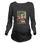 GOLDILOCKS_GOLD Long Sleeve Maternity T-Shirt