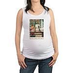 GOLDILOCKS_GOLD Maternity Tank Top