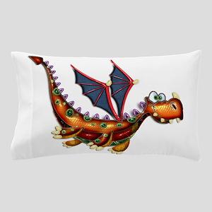 Goofy Flying Dragon Pillow Case