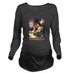 Cinderella_gold Long Sleeve Maternity T-Shirt