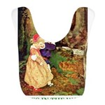 Babes in the Wood_green Bib