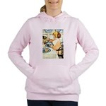 Breakfast Buddies Women's Hooded Sweatshirt