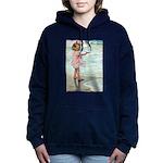 Child at the beach Women's Hooded Sweatshirt