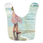 Child at the beach Bib