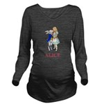 ALICE AND RABBIT 2 RED copy Long Sleeve Matern
