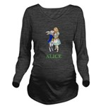 ALICE AND RABBIT 2 GREEN copy Long Sleeve Mate