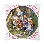 ALICE AND THE WHITE KNIGHT_PINK copy Woven Thr